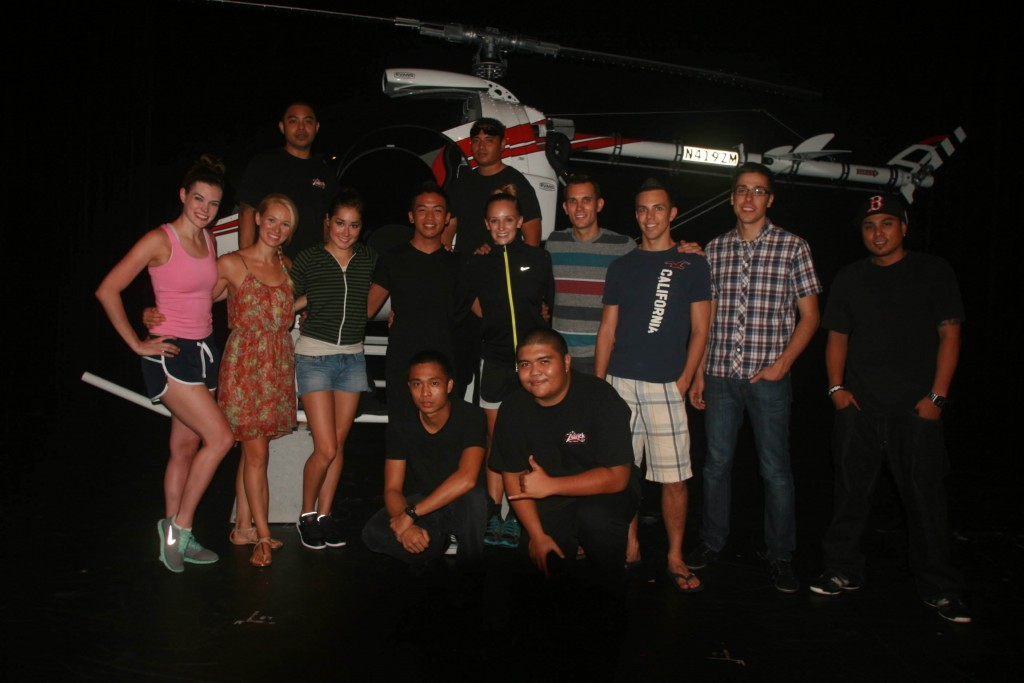 The exceptional cast and crew of The Magic of Saipan.